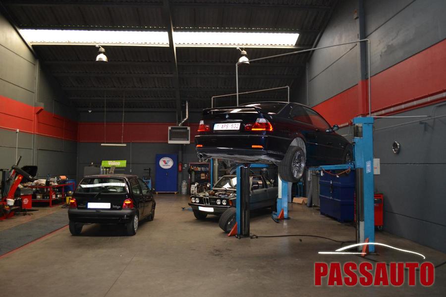réparation auto Charleroi
